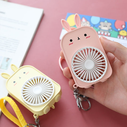 Mini Pocket Fans Keychain | Usb Charge