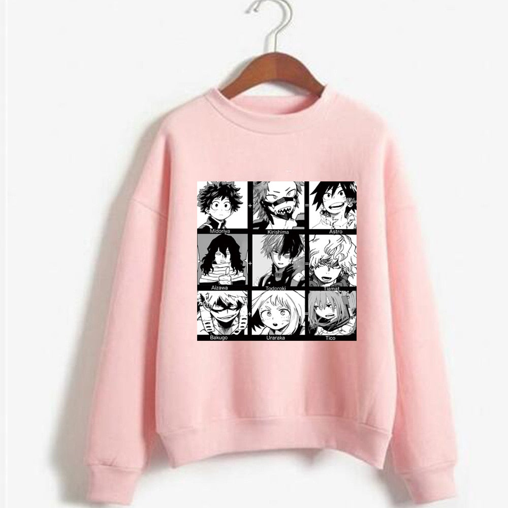 My Hero Academia Manga Sweater