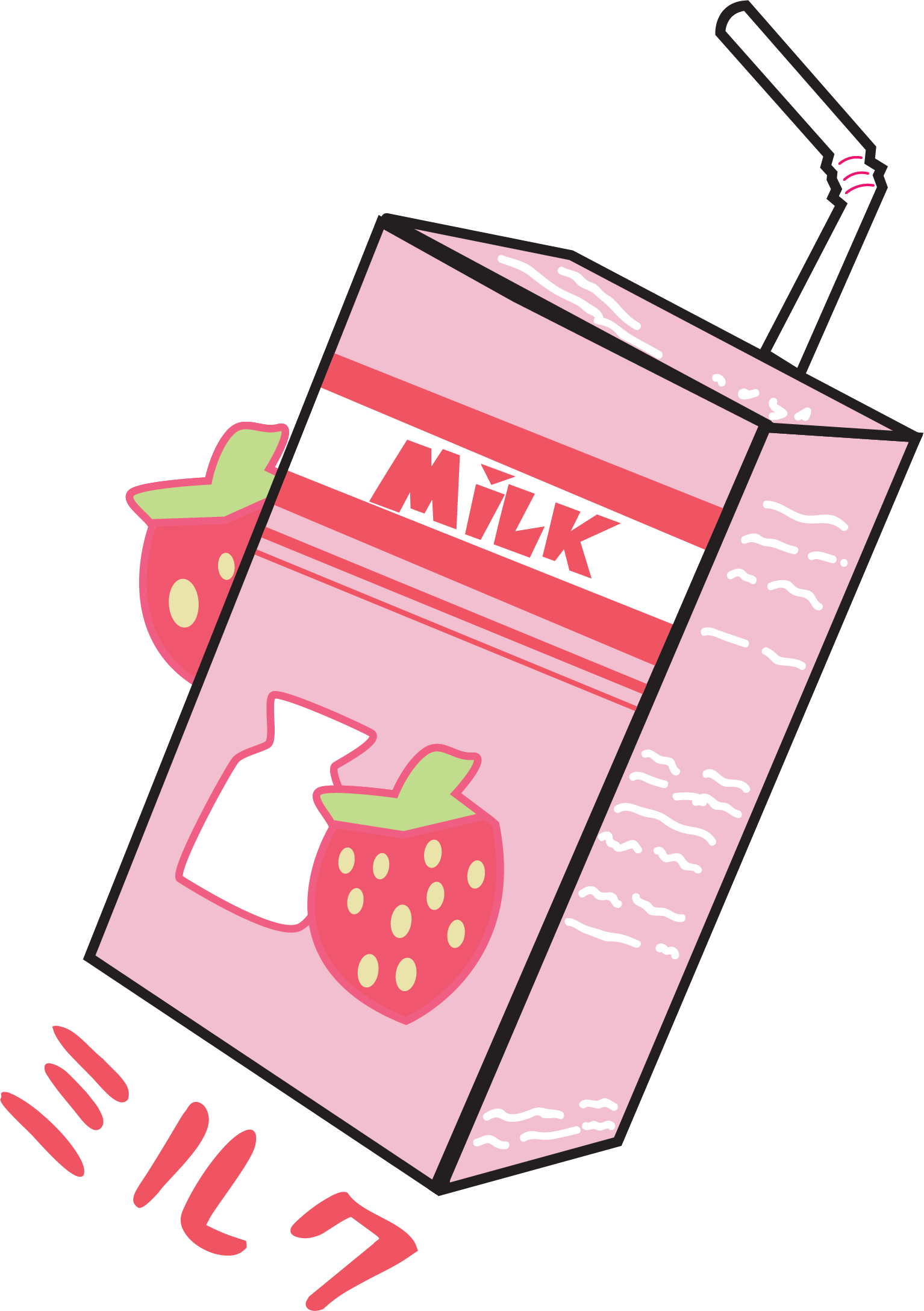 Strawberry Miruku(Milk)