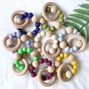 The Grace Teething Ring | 8 Color Options - PillowCrib.com