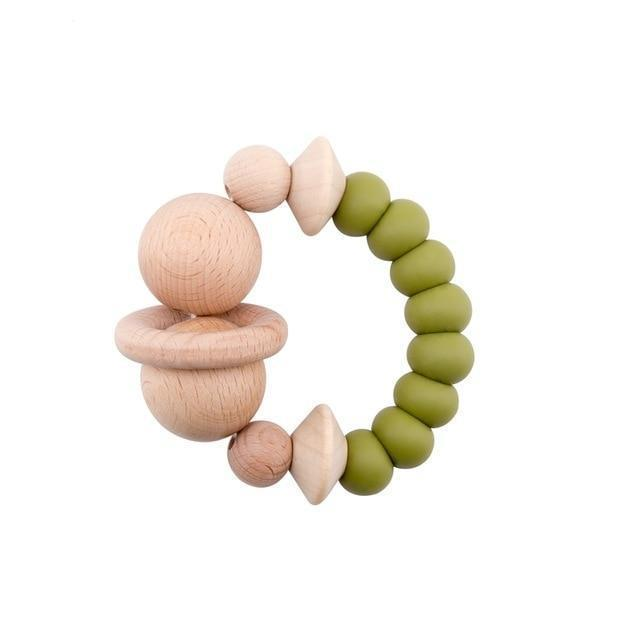 The Auberon Teething Ring | 6 Color Options