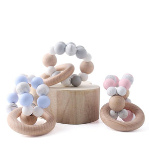The Dakota Teething Ring | 3 Color Options - PillowCrib.com
