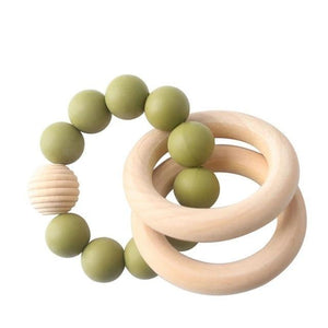 The Leighton Teething Ring | 7 Color Options - PillowCrib.com