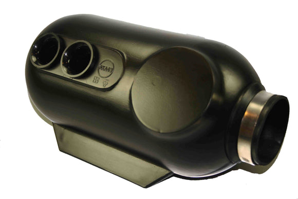 Two Hole Intake Silencer/ Airbox