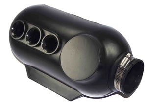 Three Hole Intake Silencer/ Airbox