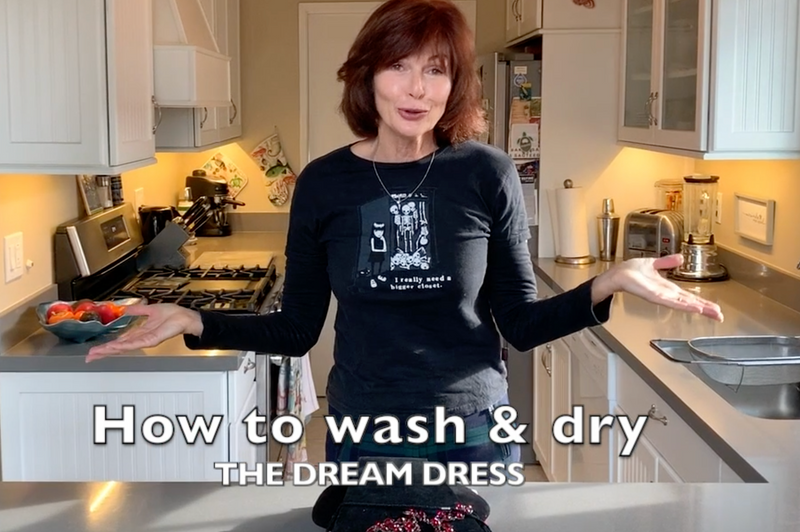 How to Wash & Dry Your Dream Dress®!