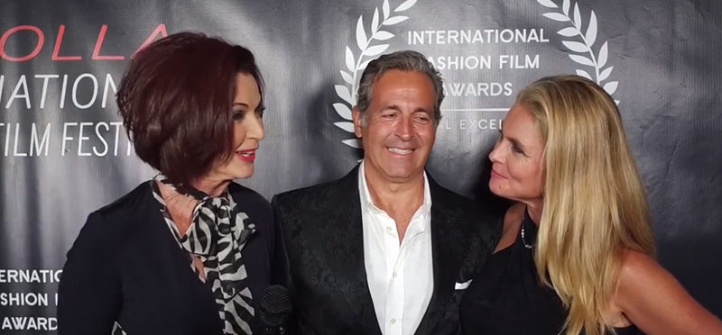 Lorelei Interviews Supermodel Kim Alexis on the Red Carpet at La Jolla Fashion Film Festival 2018