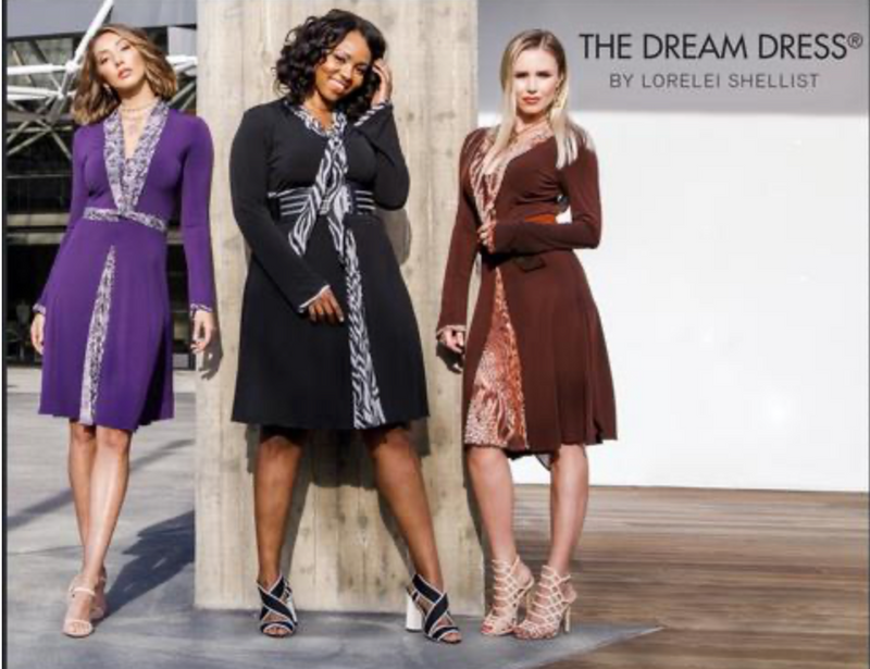 The Dream Dress from the runway style boutique will offer you multiple ways to wear one dress, save time, money and look fabulous.