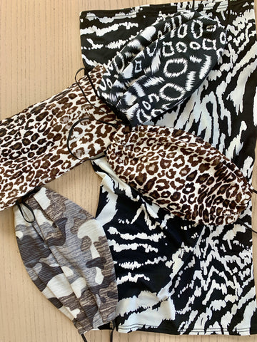 Face mask Love RRC Animal Prints & Camo