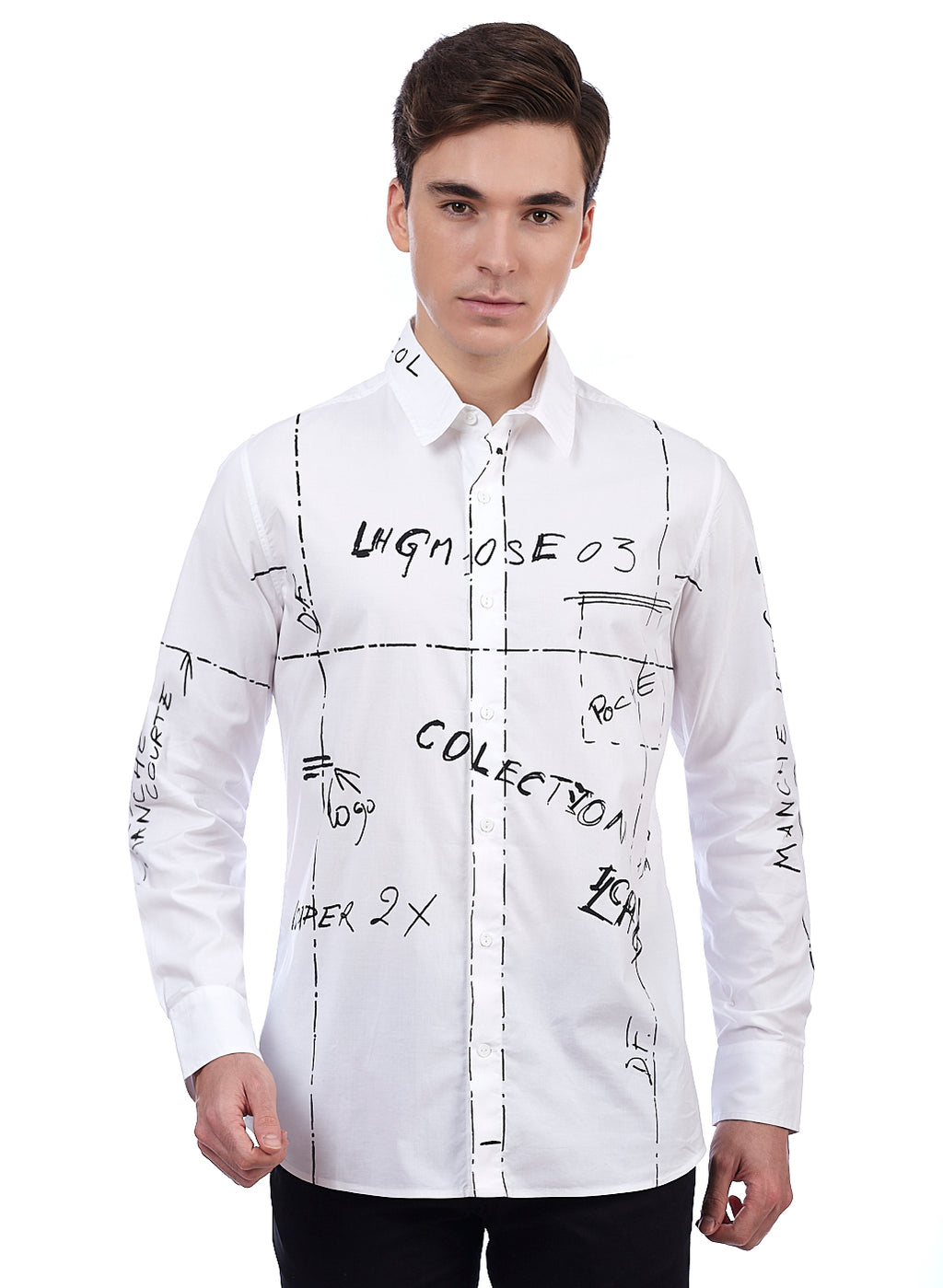 Euro~Style  Men's Designer Cotton Shirts