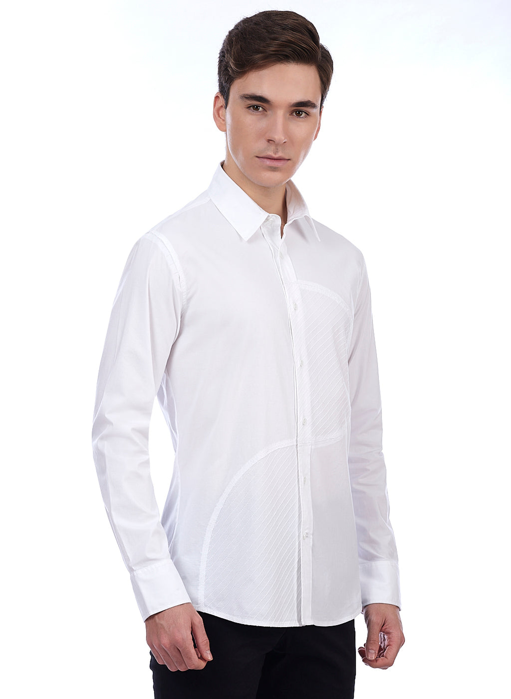 Lecoanet Hemant Men's Euro~Fit Designer Cotton Shirts