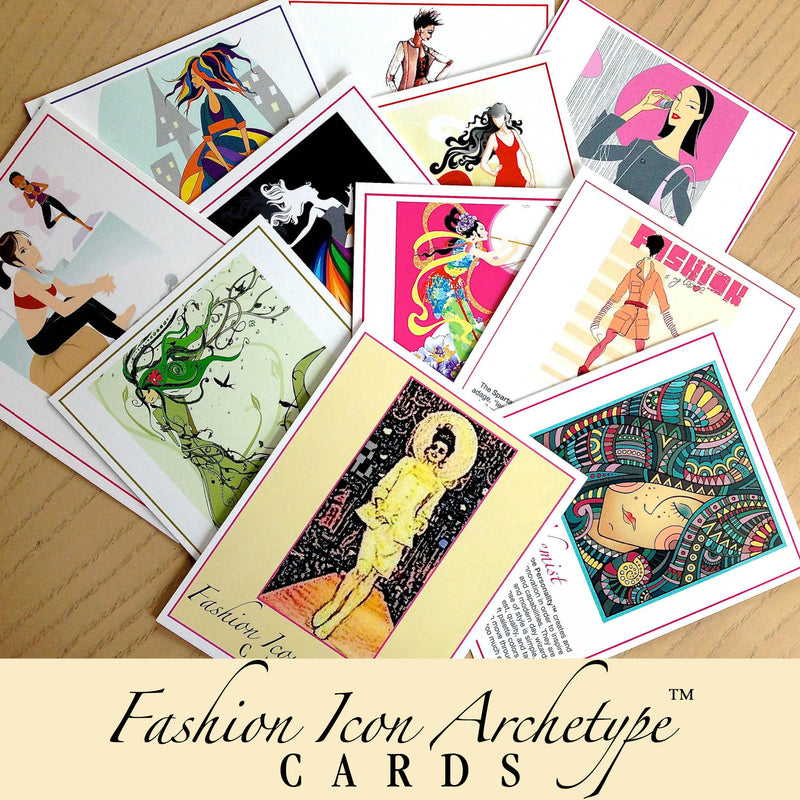 Fashion Icon Archetypes™: Angel Cards by Lorelei Shellist