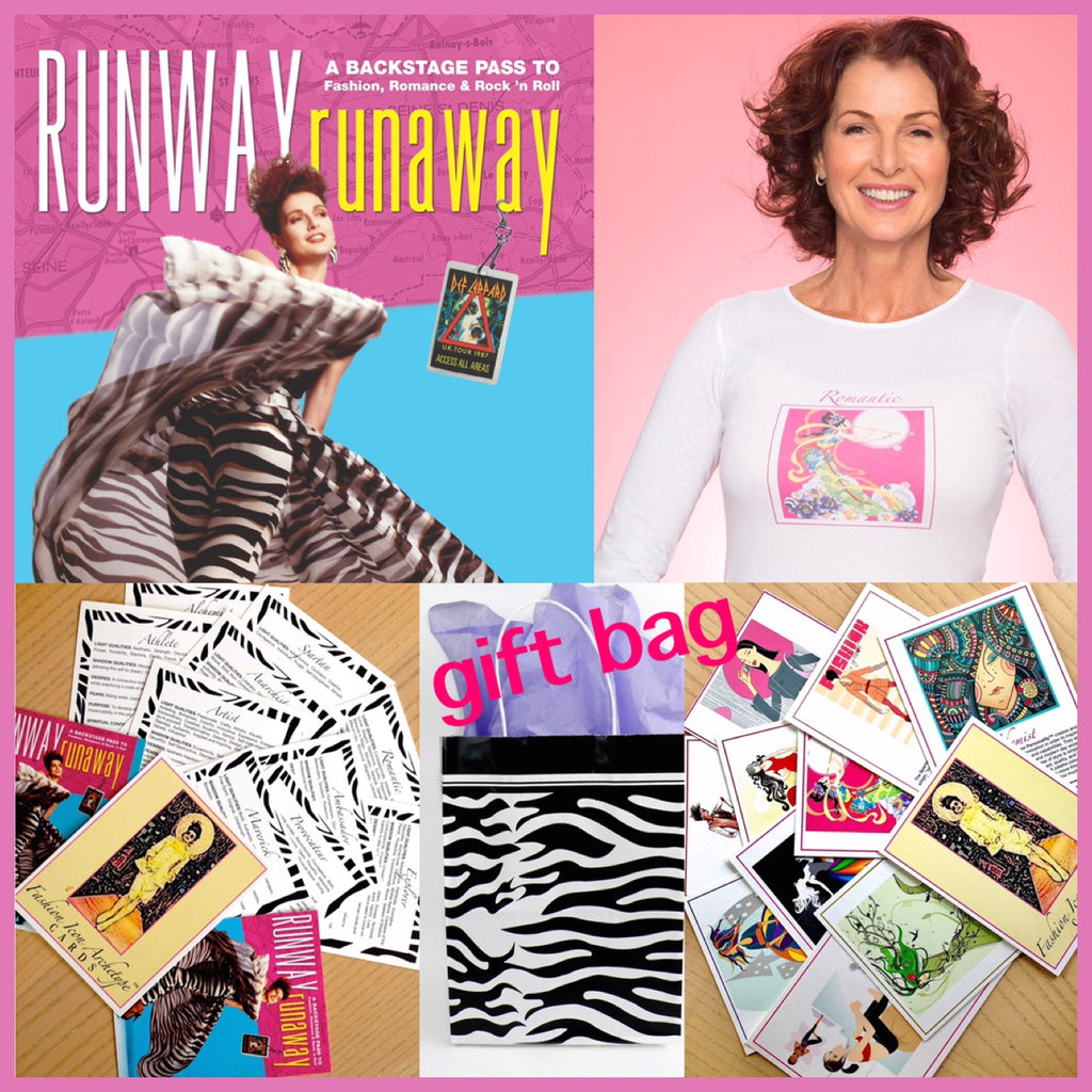 GIFT BAG  RR Book - Fashion Icon Archetypes™ Quiz Cards T-Shirt