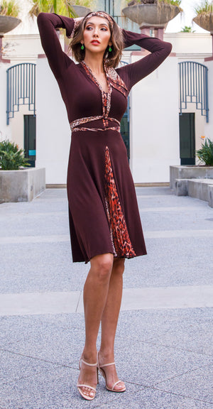 The Dream Dress® | Chocolate/Leopard