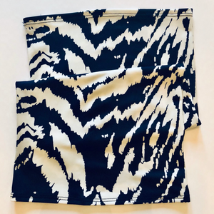 Zebra Convertible Face Mask Foulard