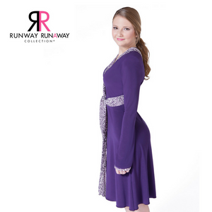 The Dream Dress is One Dress for all shapes and sizes! Jersey spandex and chiffon, machine washable, comfortable, easy to wear from day to dinner!