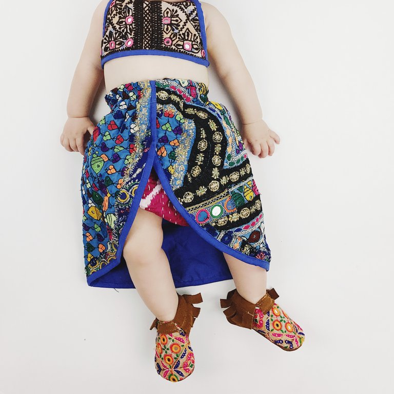 3-6 mos- Tulip Skirted Banjara Set