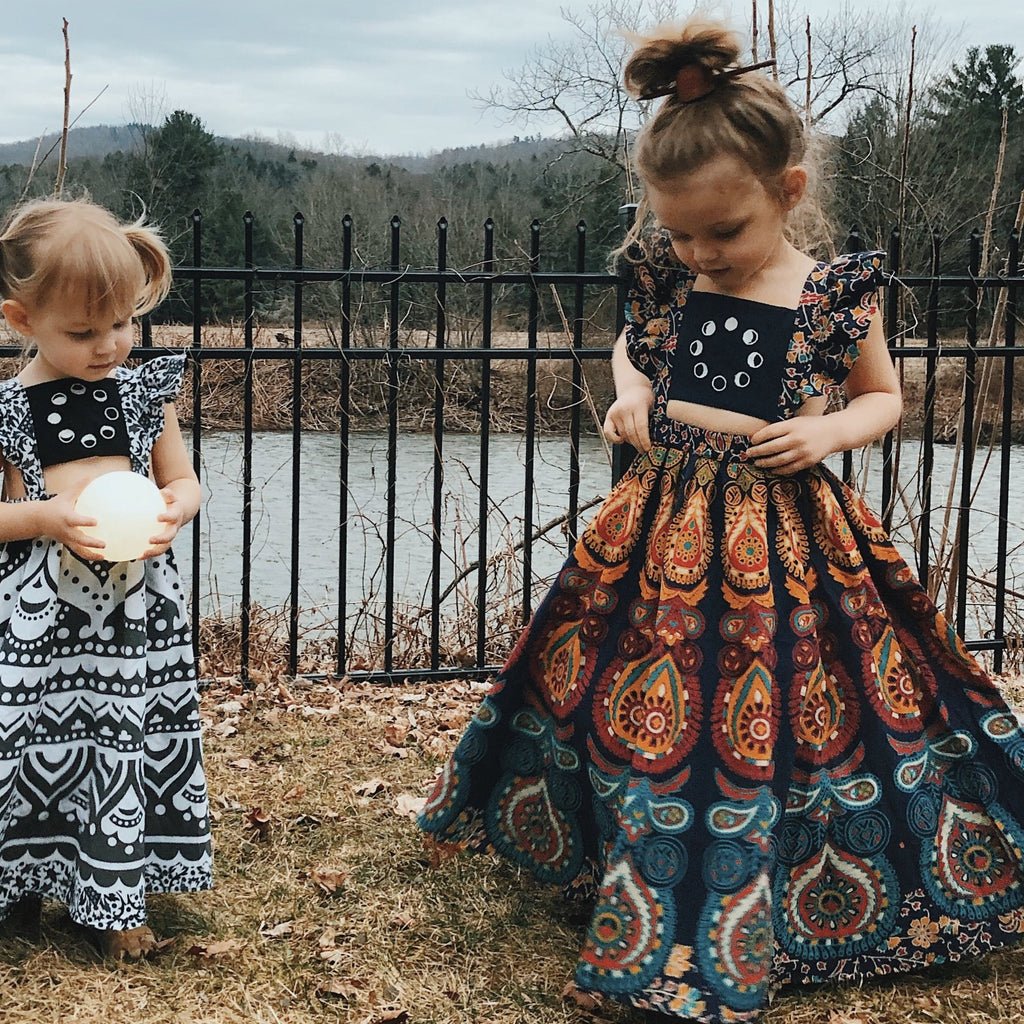 5 Years Moonchild Maxi Dress-Ready to ship