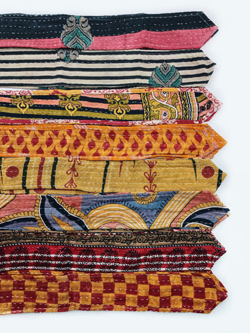 Vintage Kantha Head Wraps-Long 60""