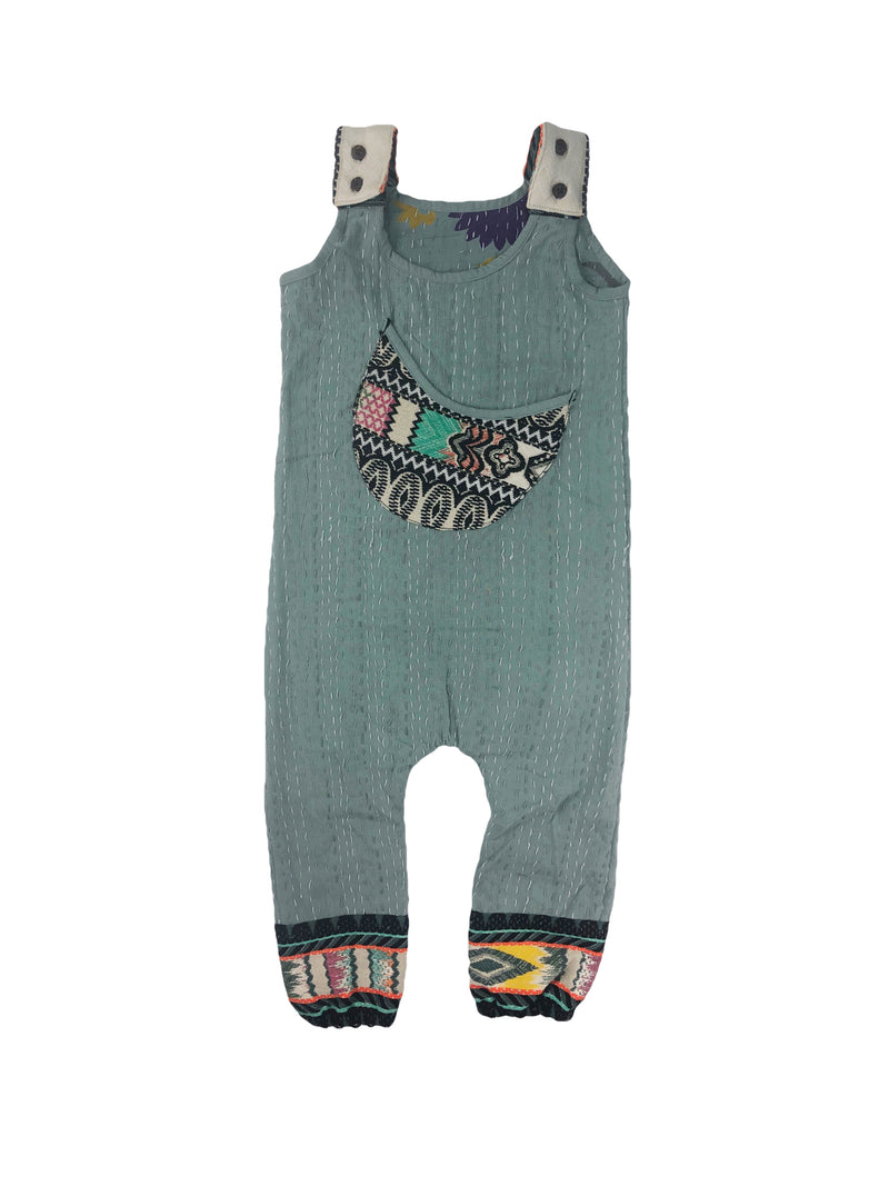 Gender Neutral Moon Overalls 5 Years