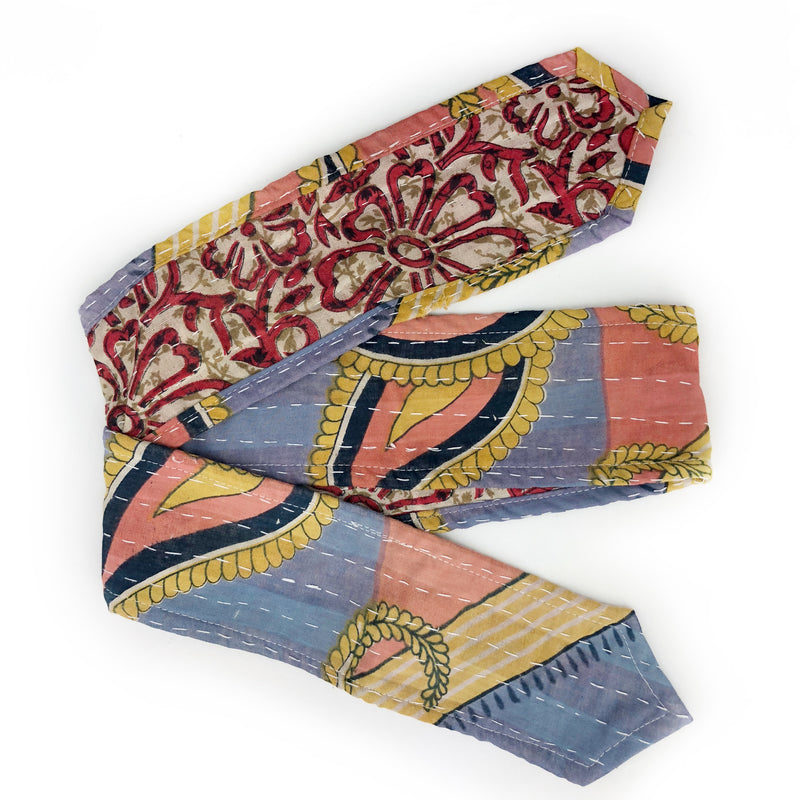 Vintage Kantha Head Wraps-Medium 52""