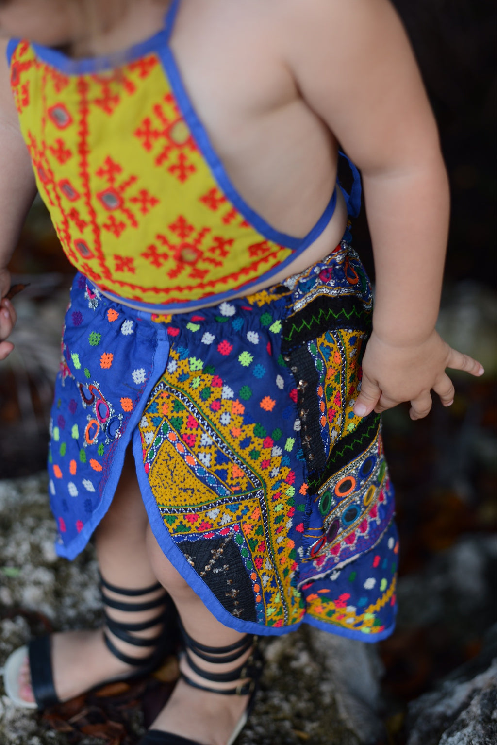 2-3 Years, Tulip Skirted Bloomer Set