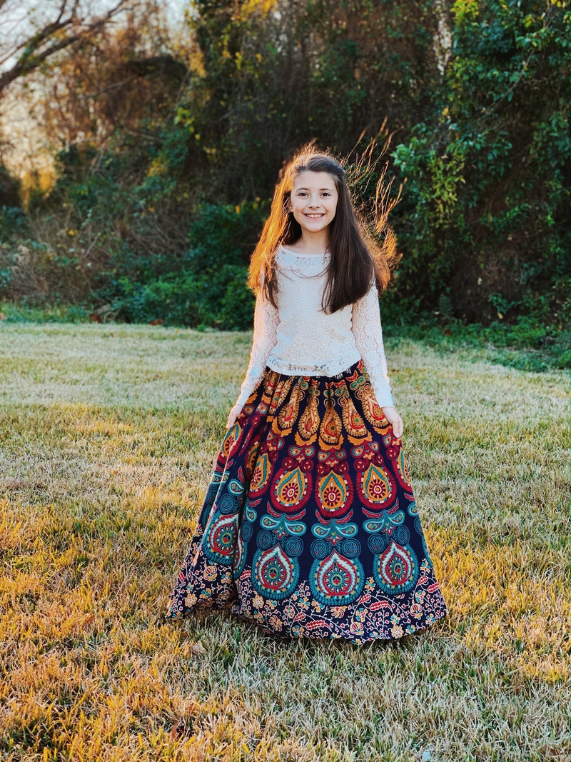8-9 Years Moonchild Maxi Dress-Ready to ship