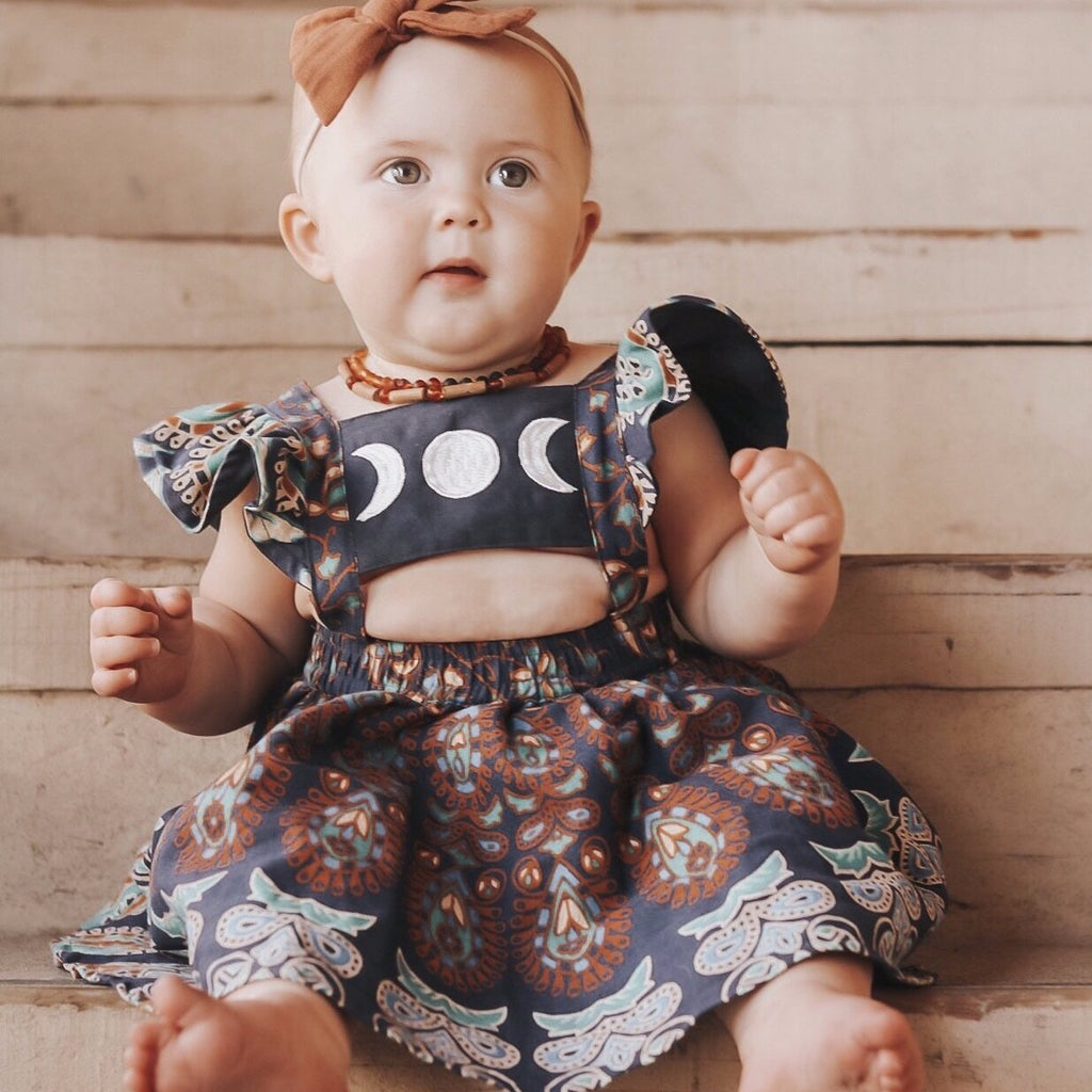 12-24 month, Moonchild mini dress -Ready to ship