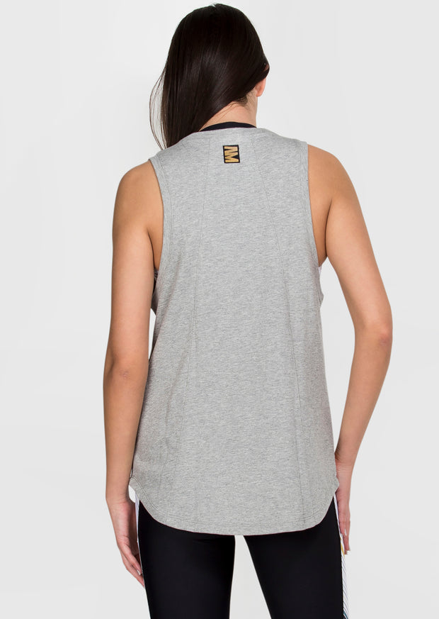 Leap Tank - Grey Blush