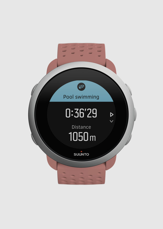 שעון כושר - SUUNTO 3 Fitness Granite Red