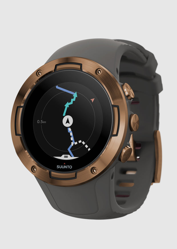 שעון כושר - SUUNTO 5 Graphite Copper