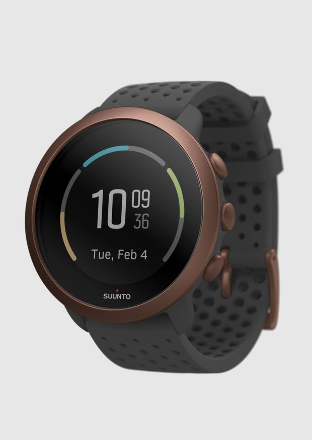 שעון כושר - SUUNTO 3 Fitness Slate Grey Copper