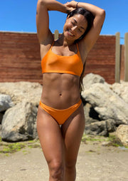 The Jemma Bikini Bottom-Orange