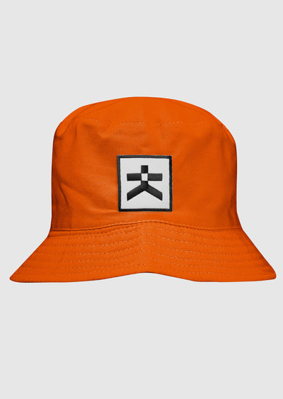 Likys Patch Bucket Hat  - כובע טמבל פאץ' כתום