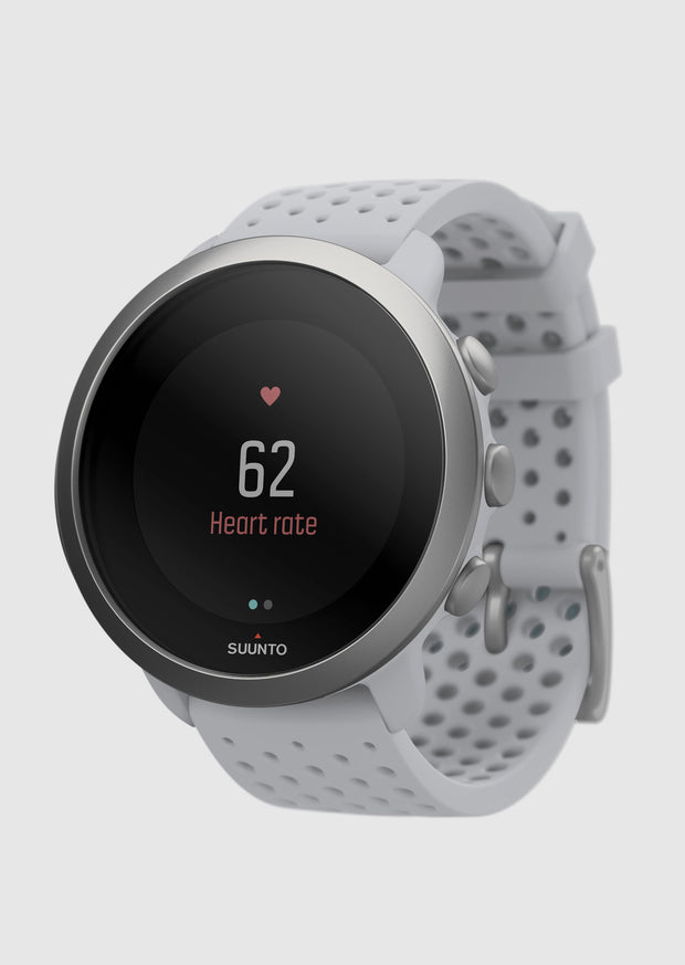 שעון כושר - SUUNTO 3 Fitness Pebble White