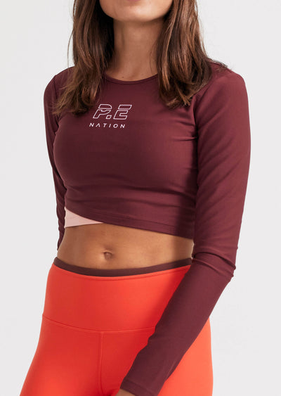 Point Forward Long Sleeve Top