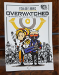 You Are Being Overwatched, an Overwatch mini comic collection