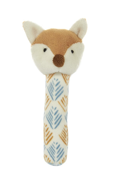 Phil the Fox Stick Rattle