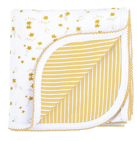 Yellow Reversible Blanket