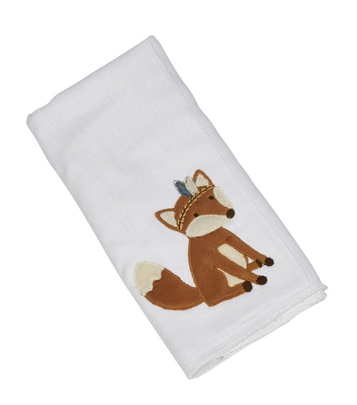 Phil the Fox Single Burp Cloth