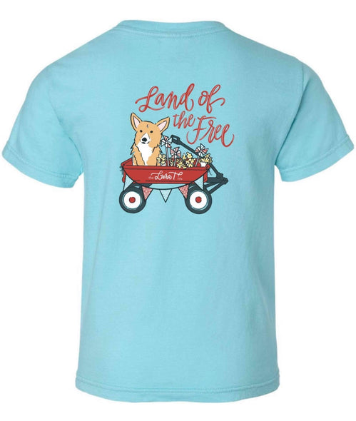 Land of the Free - Luna T Patriotic Shirt