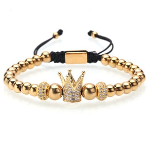 Iced Crown Bracelet