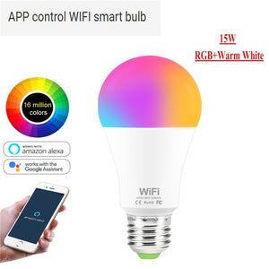 Bluetooth Controlled LED Lightbulb