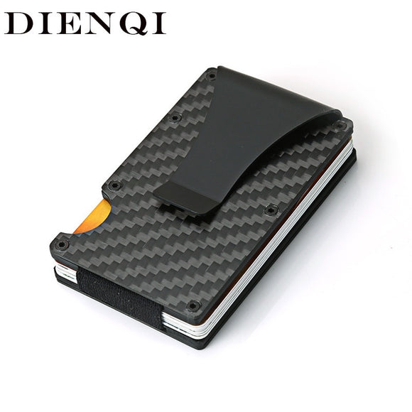 Sleek Carbon Minimalist Wallet