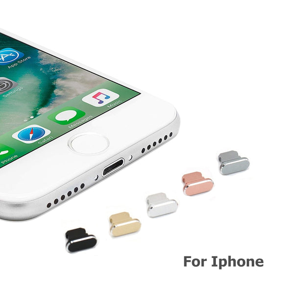 Dust Cover For iPhone's Featuring Lightning Port