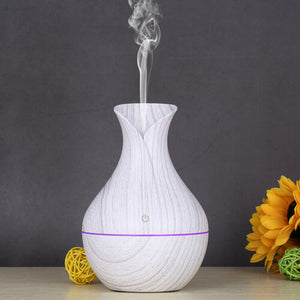 Marble Finish LED Essential Oil Diffuser
