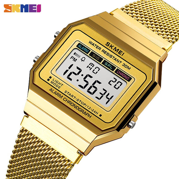 SKMEI Gold Sports Watch