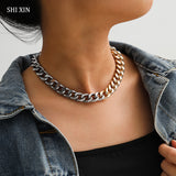SHIXIN Short Choker Necklace