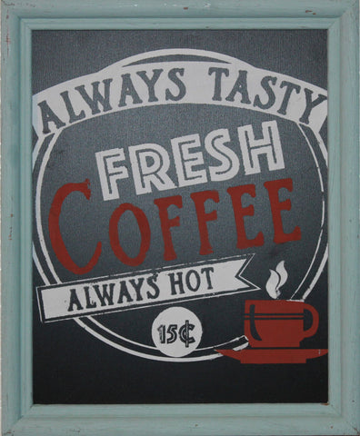 Fresh Coffee sign