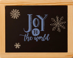 """Joy to the world""."